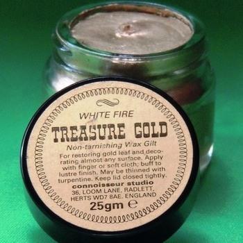 Treasure gold wachs white fire